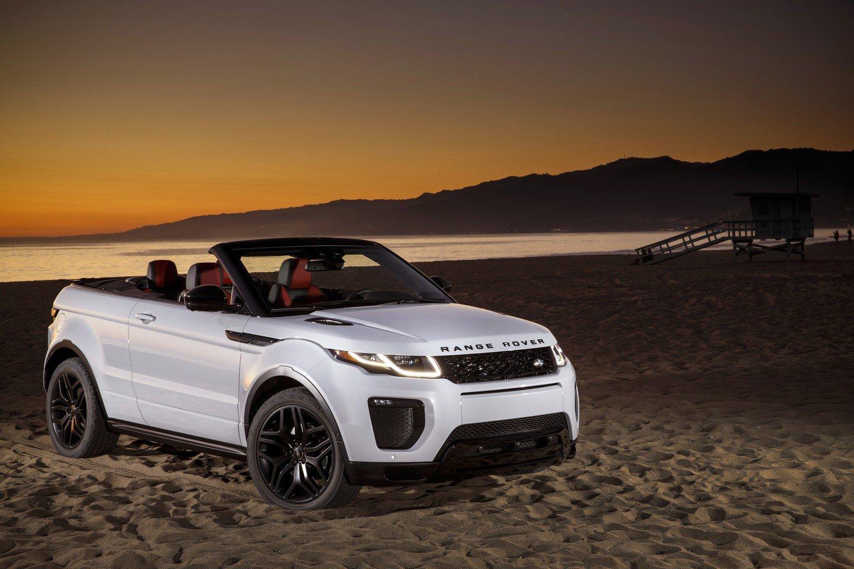 range rover evoque convertible il suv cabrio pronto per l 39 estate. Black Bedroom Furniture Sets. Home Design Ideas