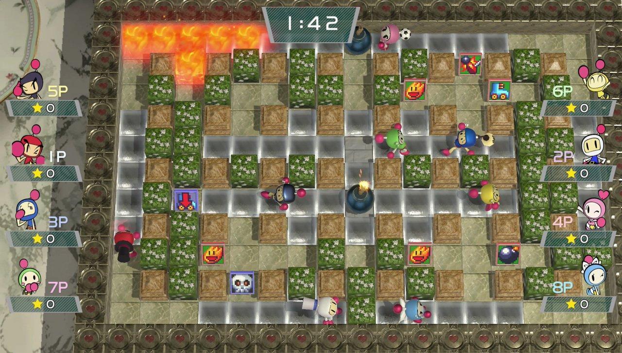 Konami rilascia un nuovo trailer dedicato a Super Bomberman R