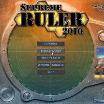 Immagini Supreme Ruler 2010