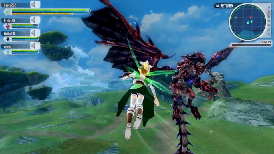 Recensione Sword Art Online Lost Song - Everyeye it