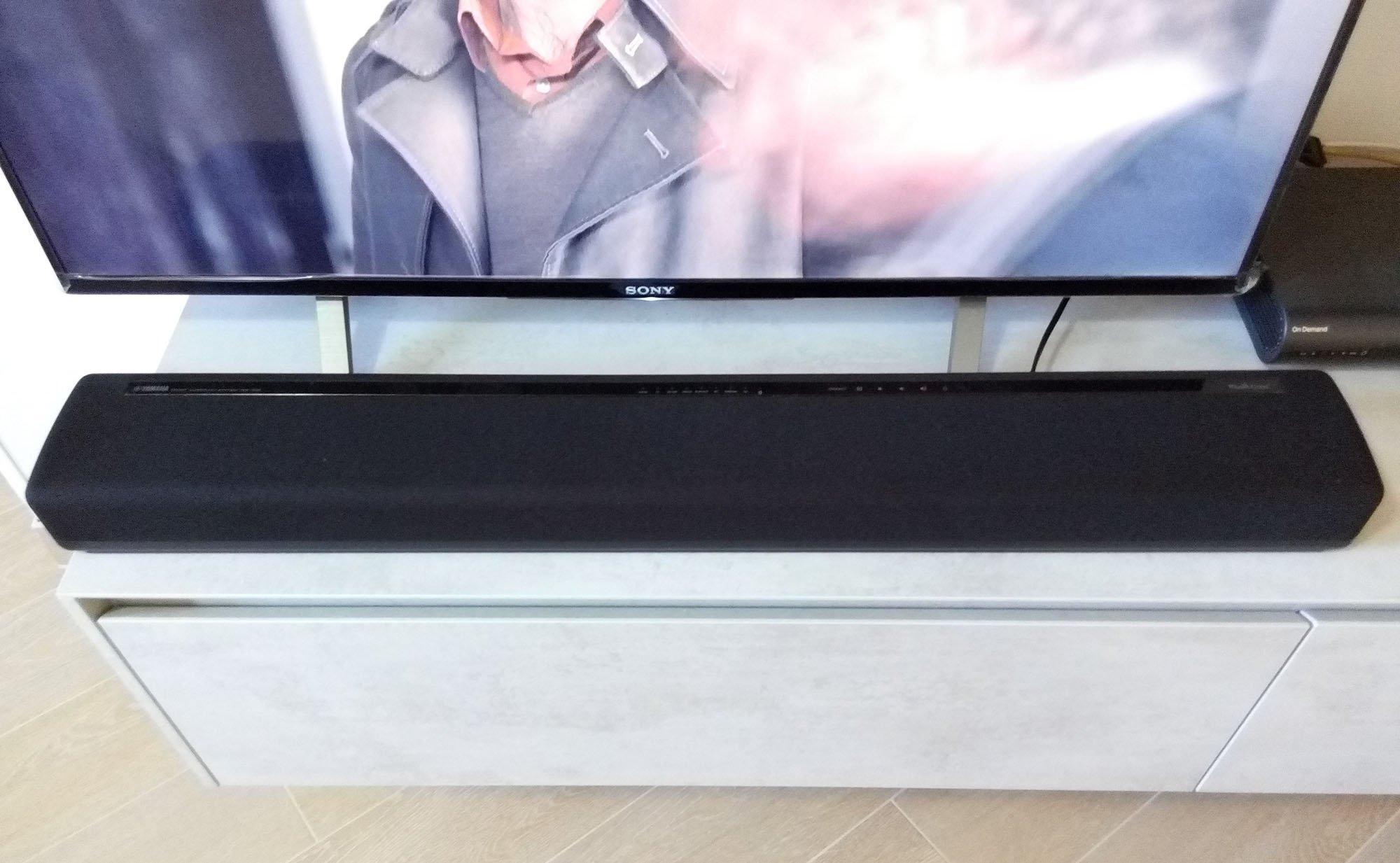 yamaha musiccast yas 306 recensione una soundbar elegante. Black Bedroom Furniture Sets. Home Design Ideas