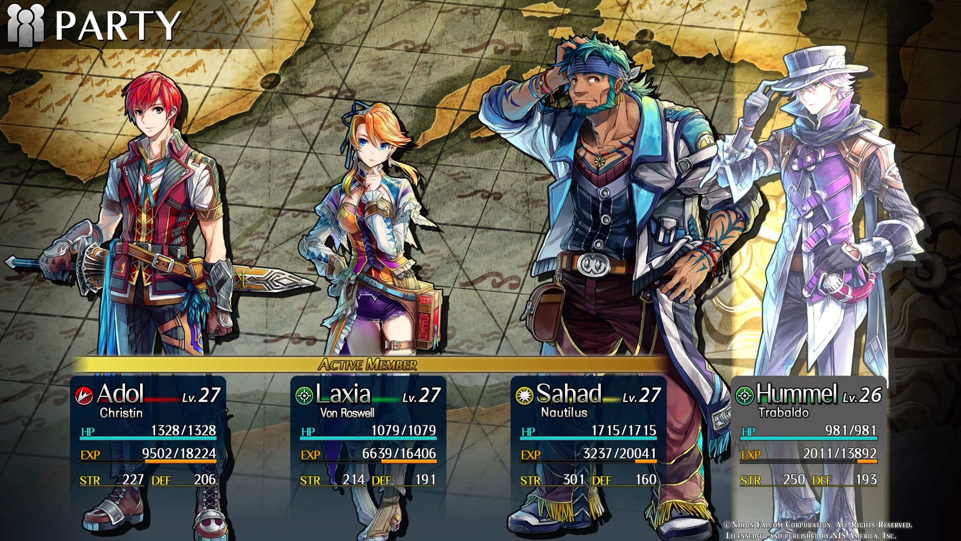 Image result for ys viii lacrimosa of dana