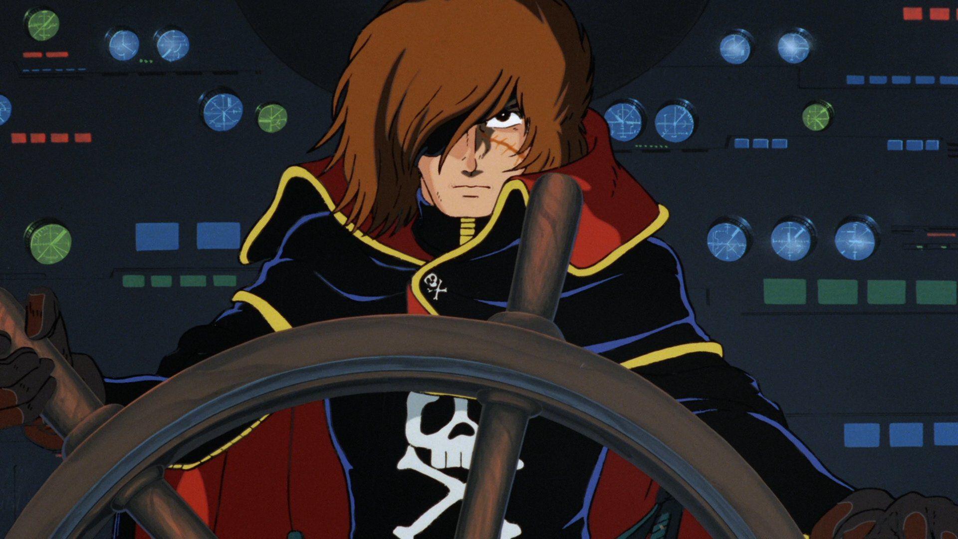 Capitan Harlock: dalle origini al film in 3D disponibile su Prime Video