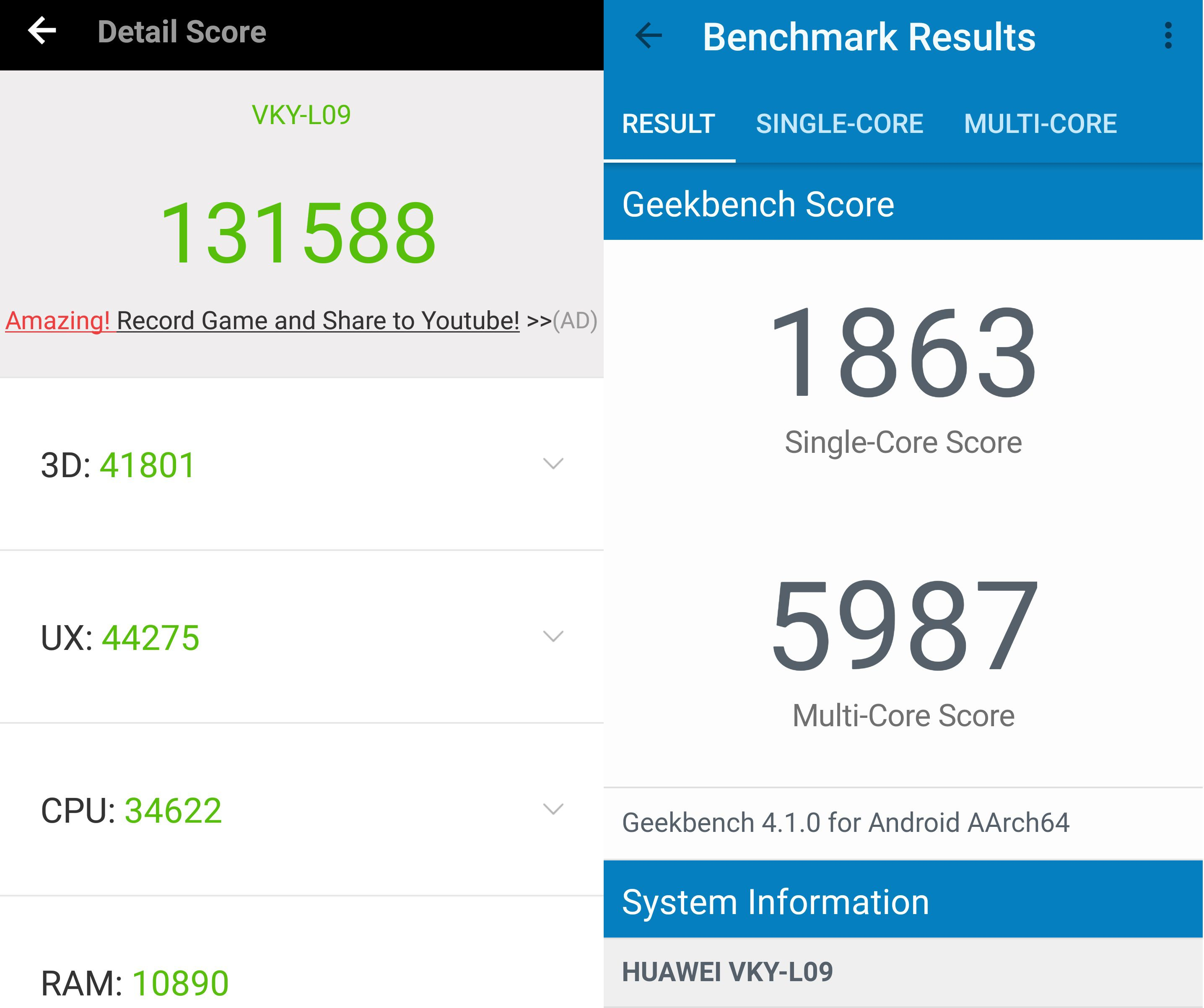 Huawei P10, alcuni smartphone con memorie UFS 2.1, altri con eMMC