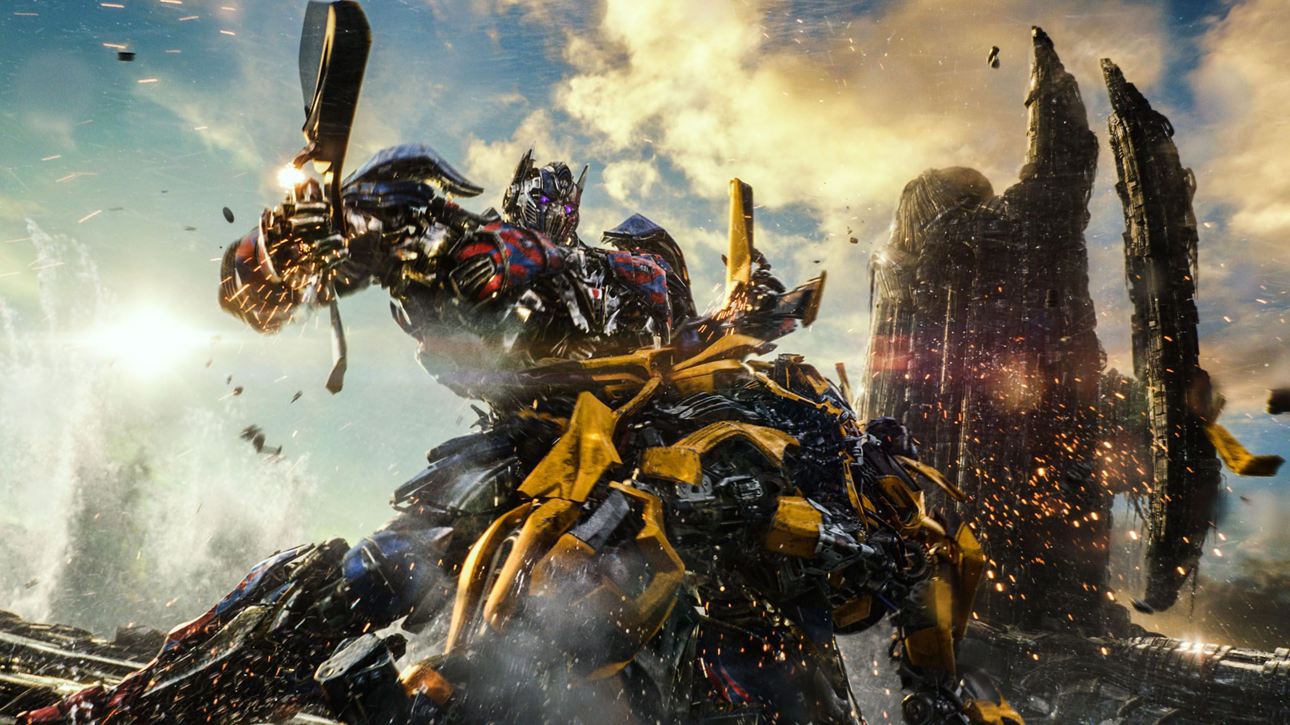 Transformers, debutto boom in sale Usa