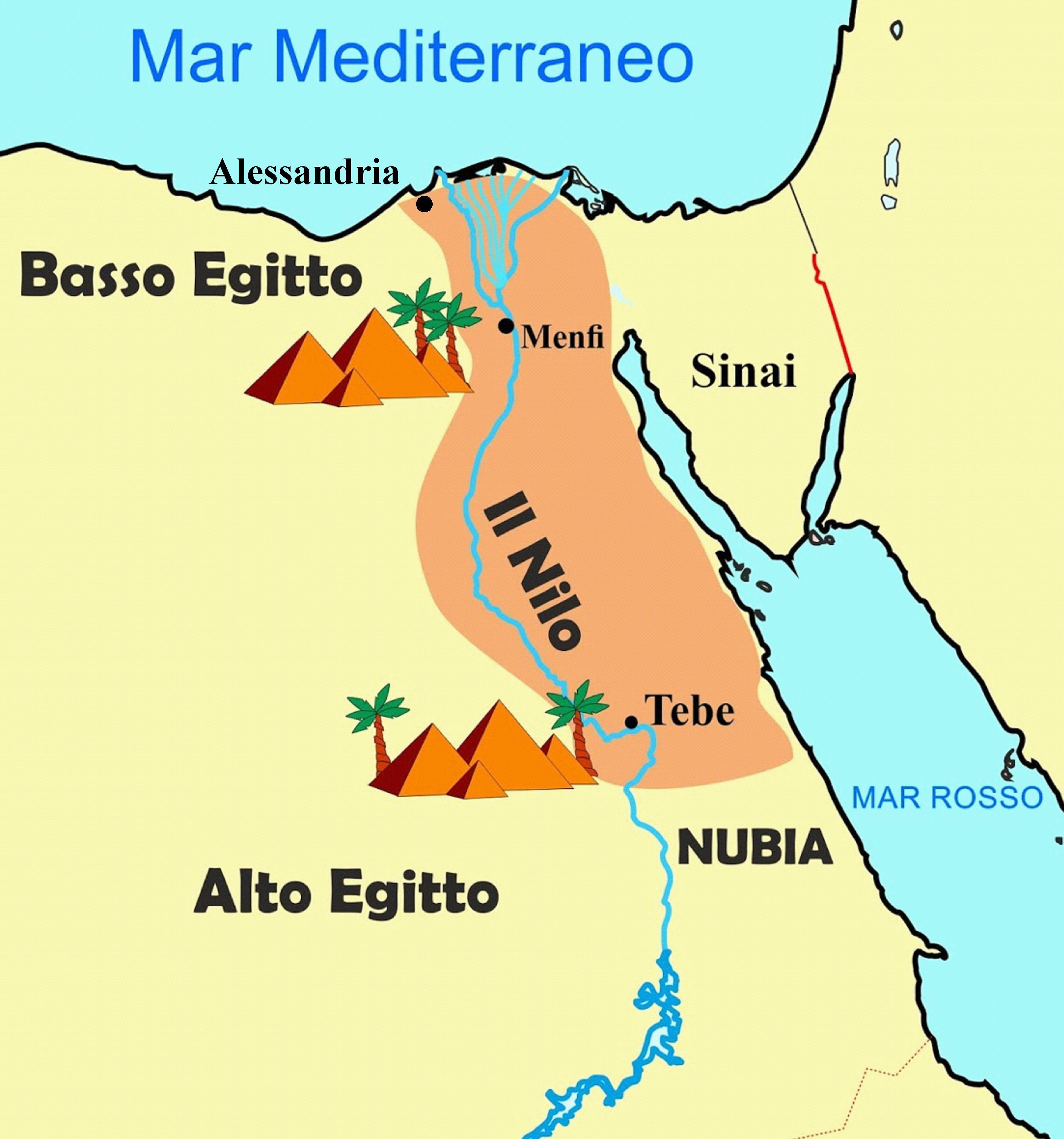 Cartina Egitto In Italiano.Assassin S Creed Origins La Storia Dell Antico Egitto