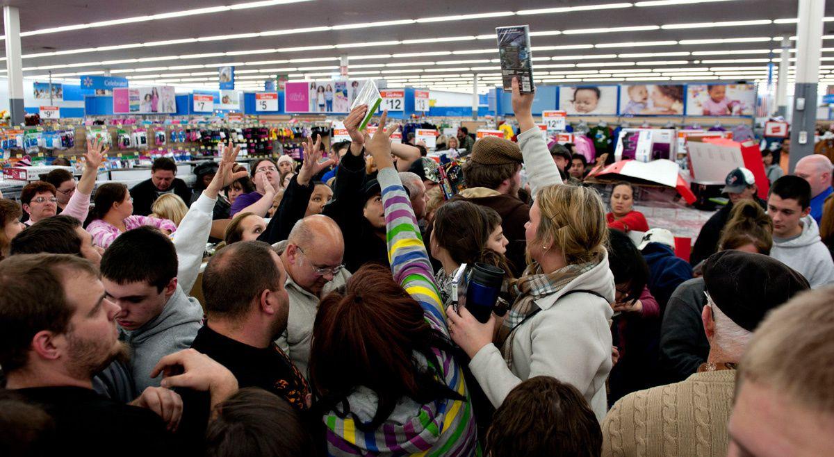 BLACK FRIDAY: ecco la settimana dello shopping