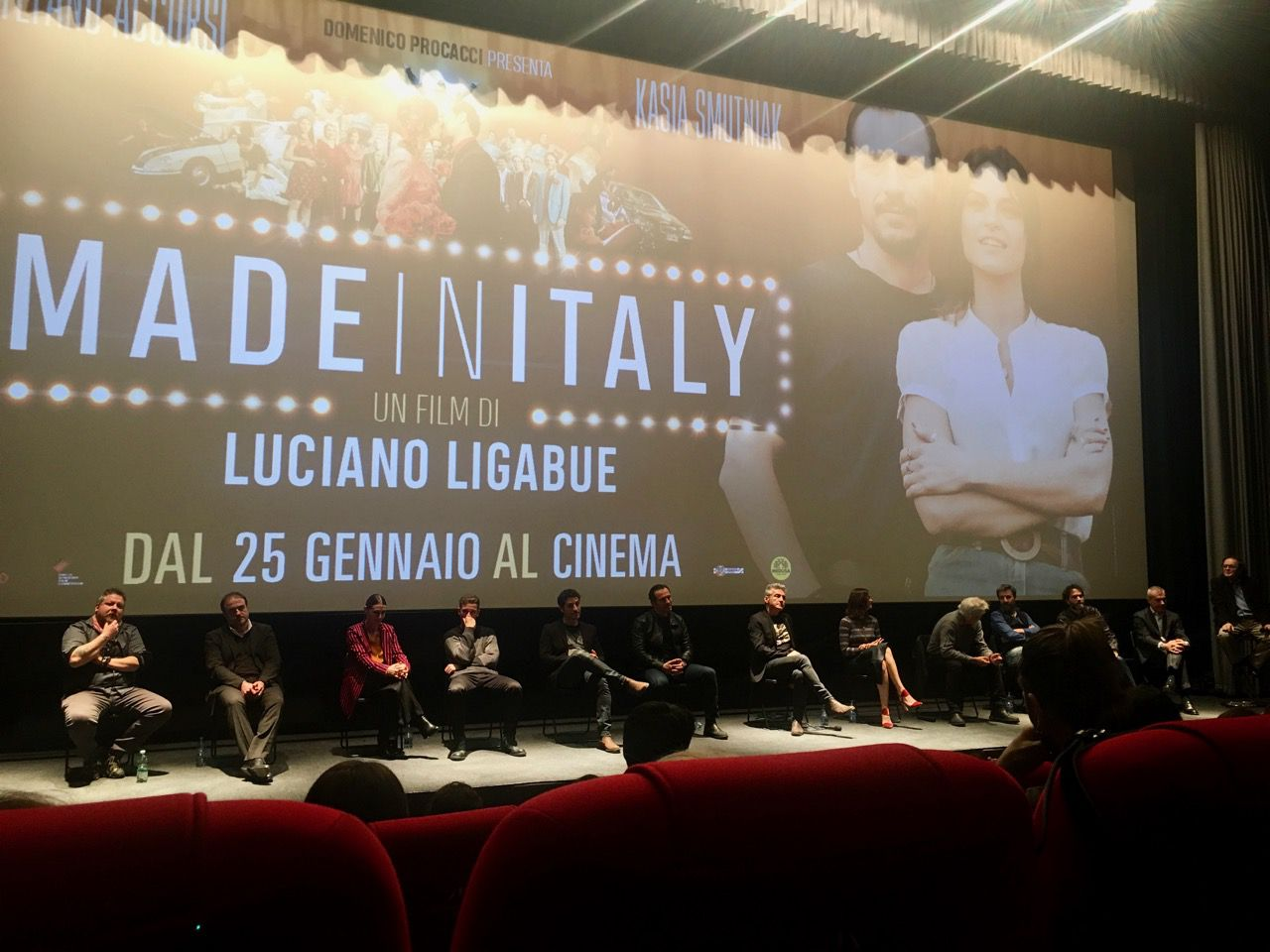 Made in Italy: intervista a Luciano Ligabue e al cast