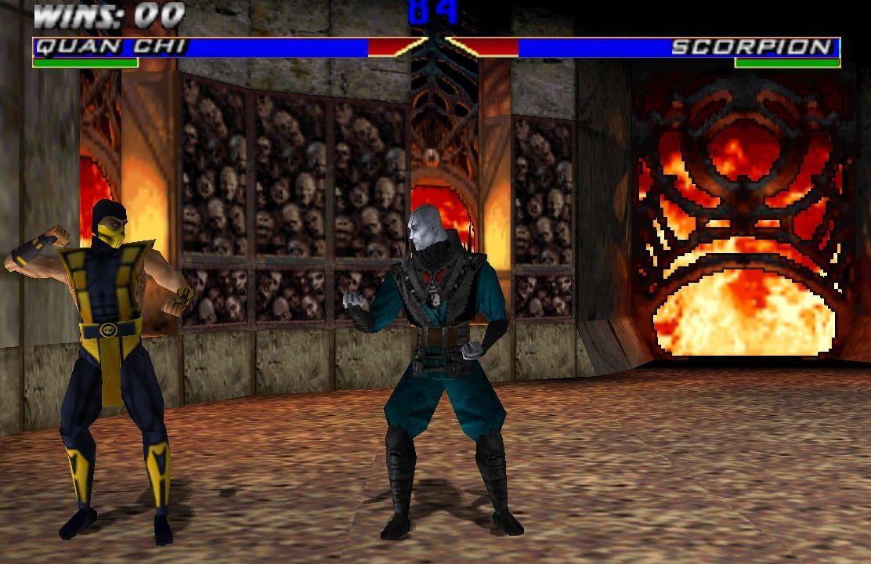 Mortal Kombat 9 Collegare