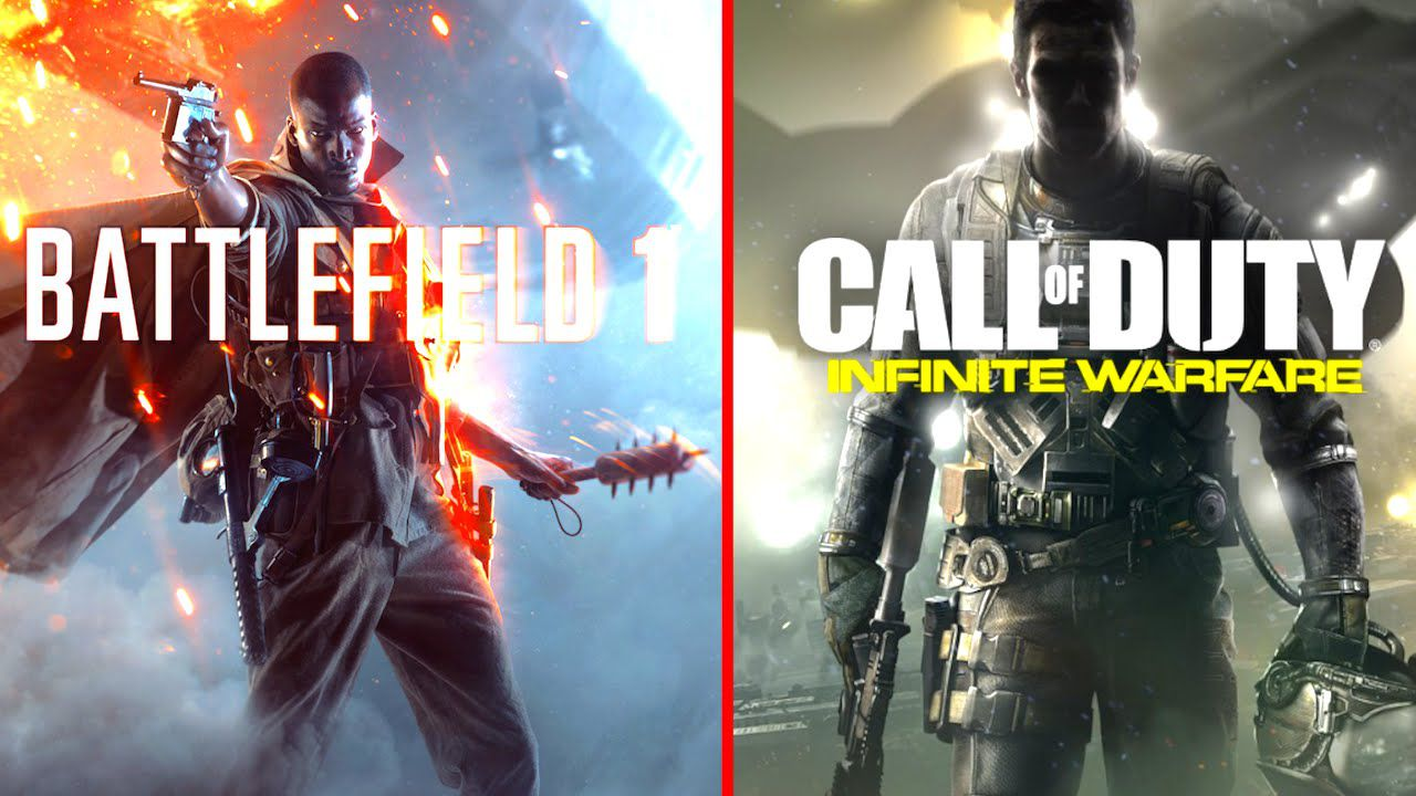 Sondaggio - Battlefield 1 vs Call of Duty Infinite Warfare: quale comprerai?