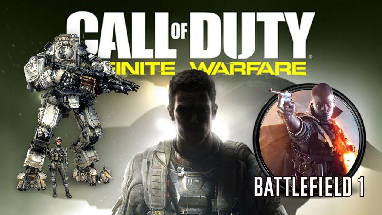 Sondaggio - Call of Duty Infinite Warfare vs Battlefield 1 vs Titanfall 2: quale FPS hai comprato quest'anno?