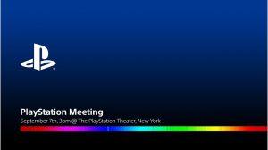 Sondaggio - Cosa ti aspetti dal PlayStation Meeting del 7 settembre?