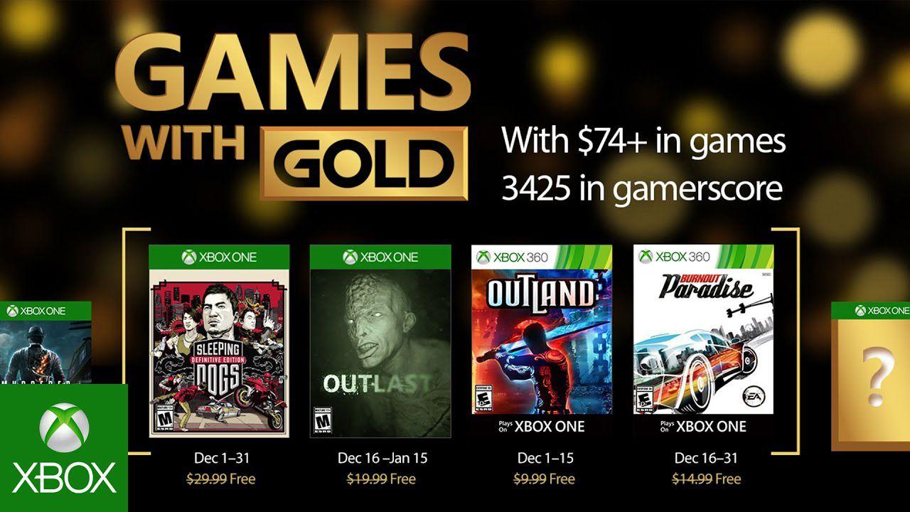 Sondaggio - Games with Gold: qual è il miglior gioco gratis di Dicembre 2016?