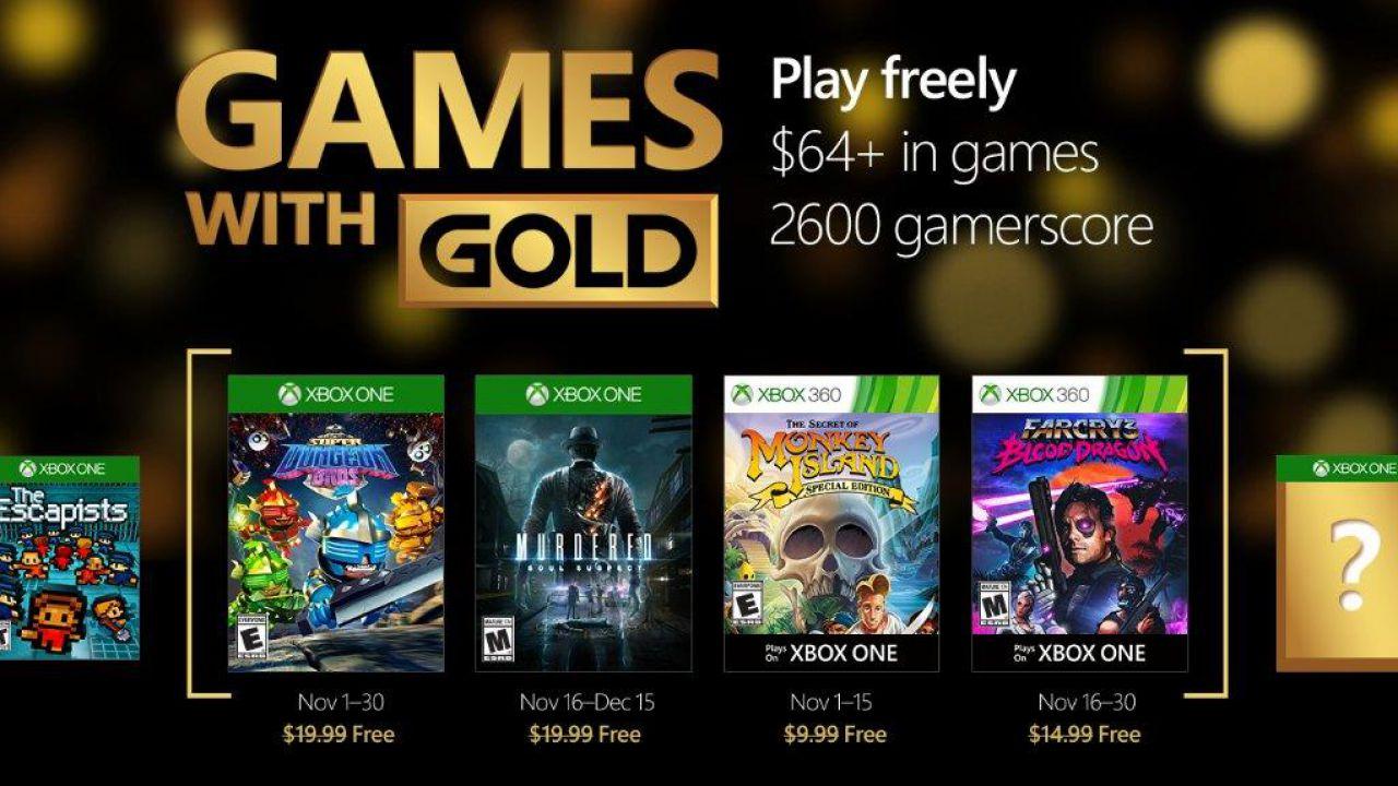 Sondaggio - Games with Gold: qual è il miglior gioco di novembre 2016?