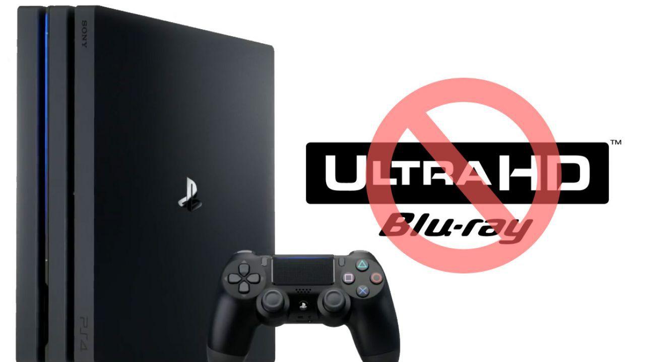 Sondaggio - PlayStation 4 Pro non ha il lettore Blu-Ray 4K: cosa ne pensi?
