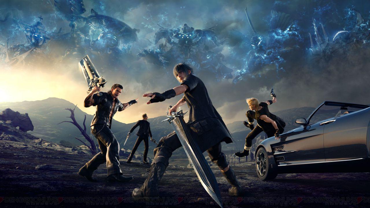 Sondaggio - Quale personaggio di Final Fantasy XV ti piace di più?
