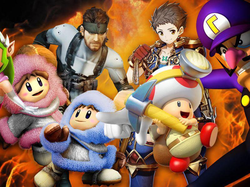 Quale di questi personaggi vorresti vedere in Super Smash Bros Switch?