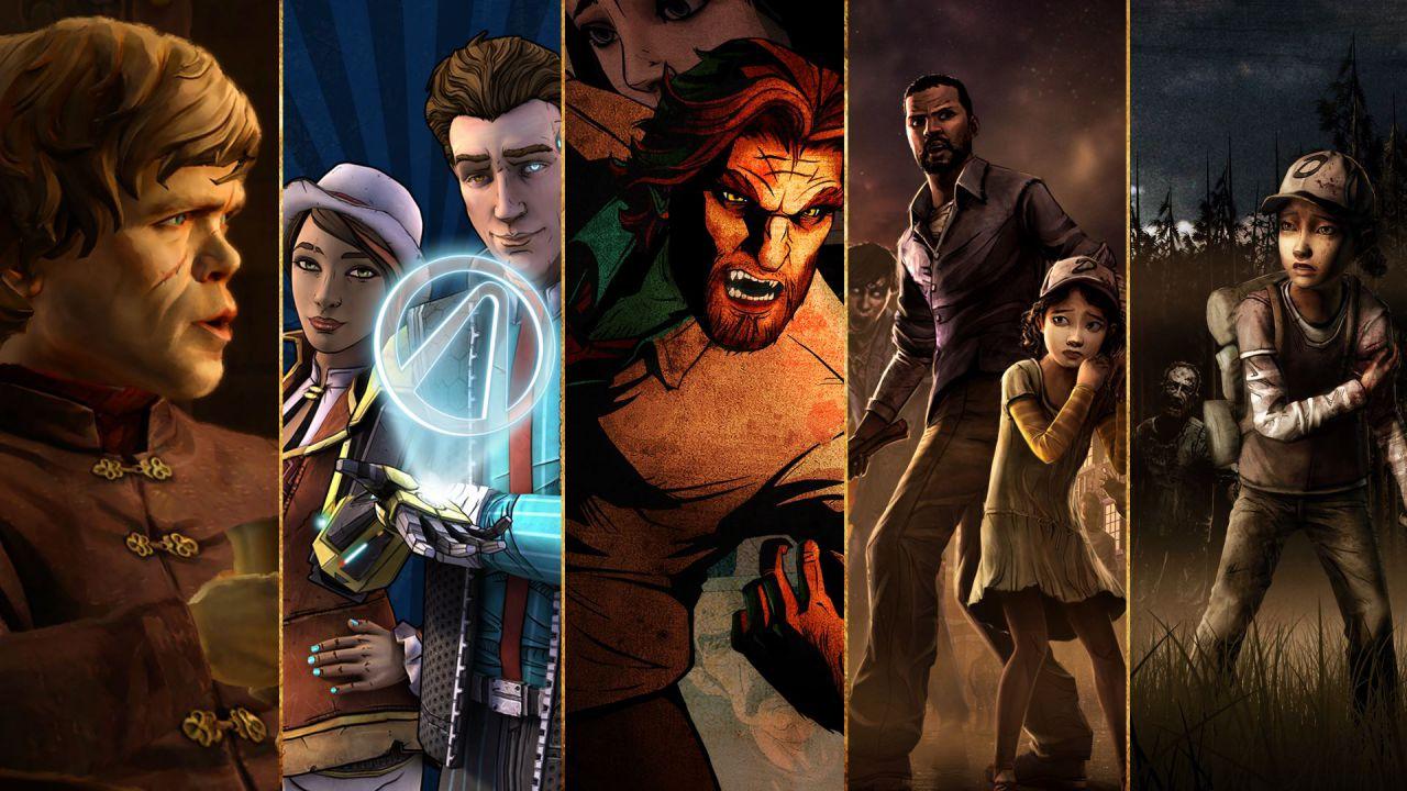 Sondaggio - Quale serie Telltale Games ti piacerebbe vedere su Nintendo Switch?