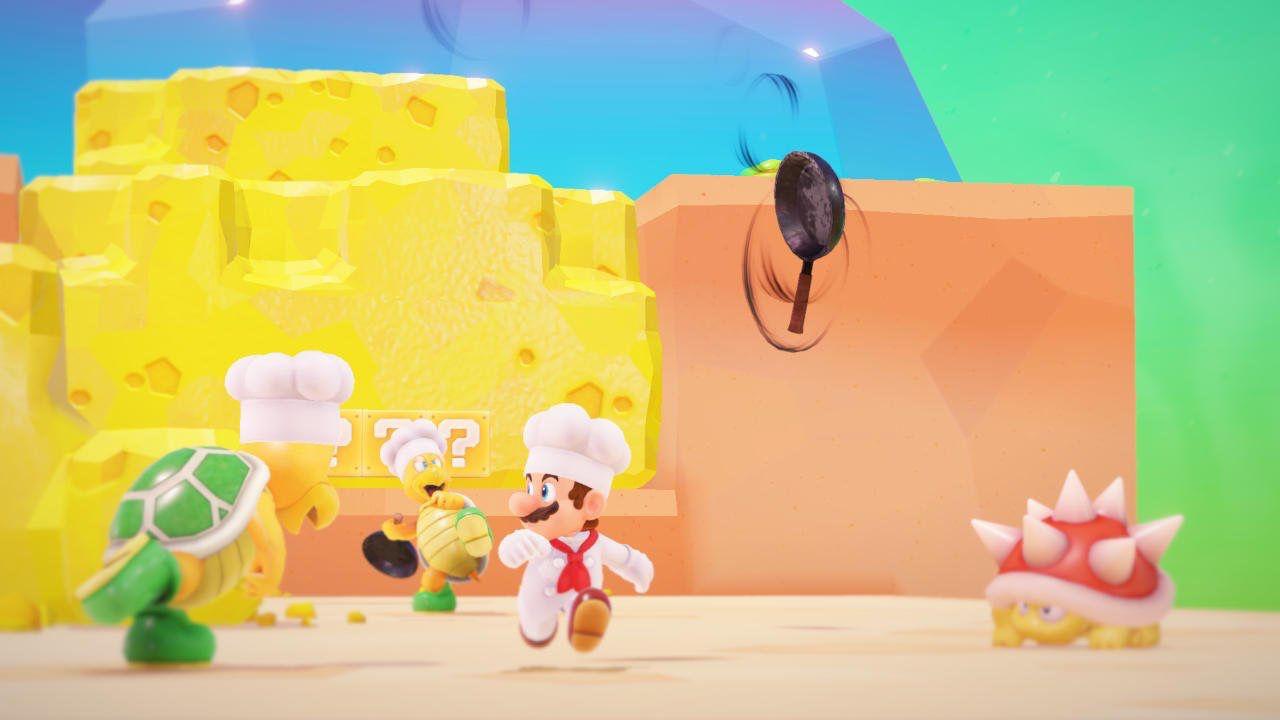 Sondaggio - Super Mario Odyssey: cosa ne pensi del Luncheon Kingdom?