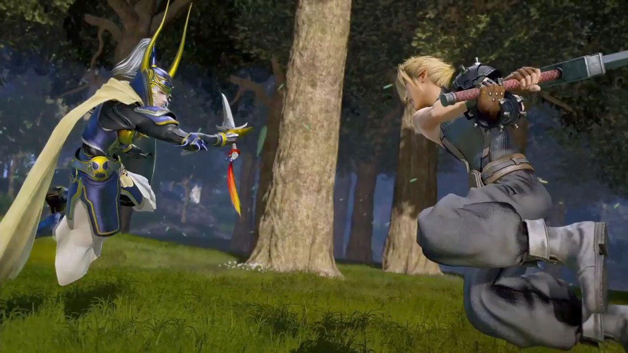 Dissidia Final Fantasy: lo stage di Midgar in un nuovo trailer, ecco il confronto tra Arcade e PS4