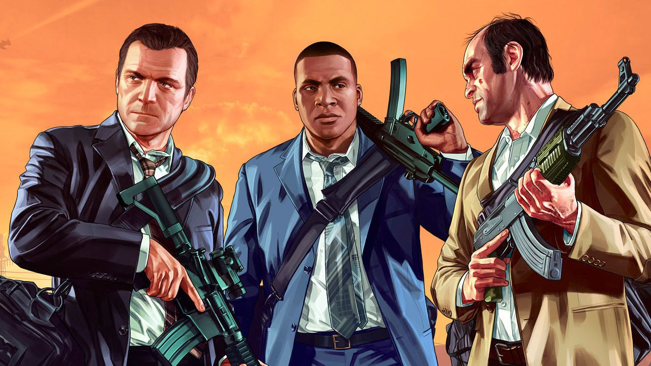 GTA 5: ecco i wallpaper di Michael, Franklin e Trevor