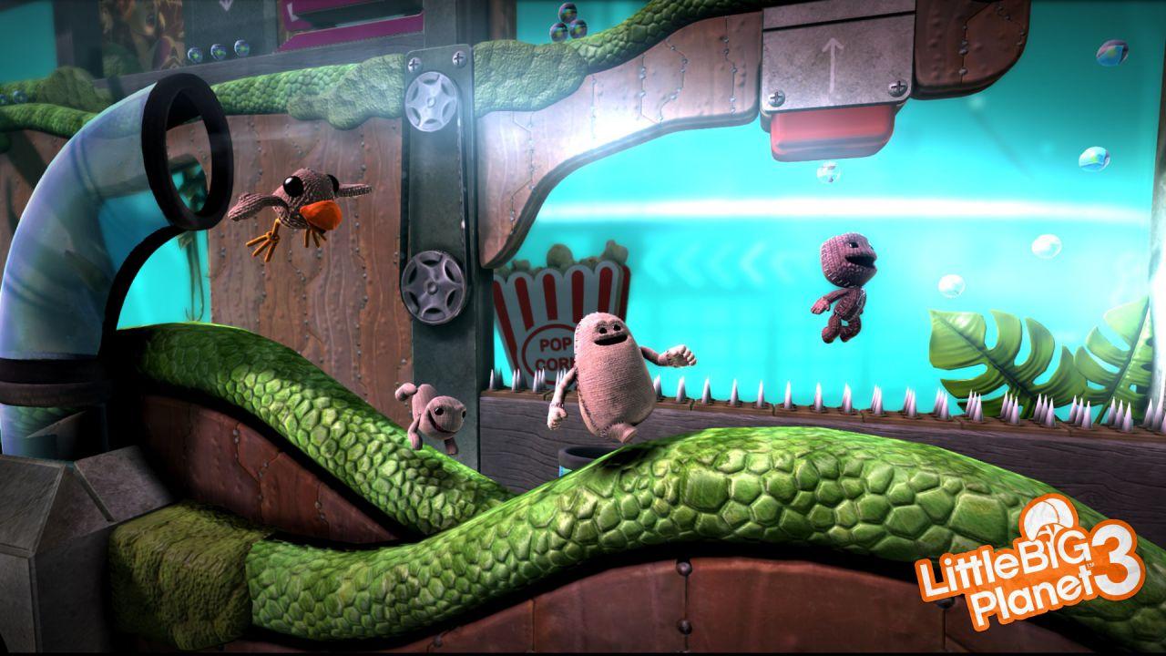 LittleBigPlanet 3 uscirà anche su PlayStation 3
