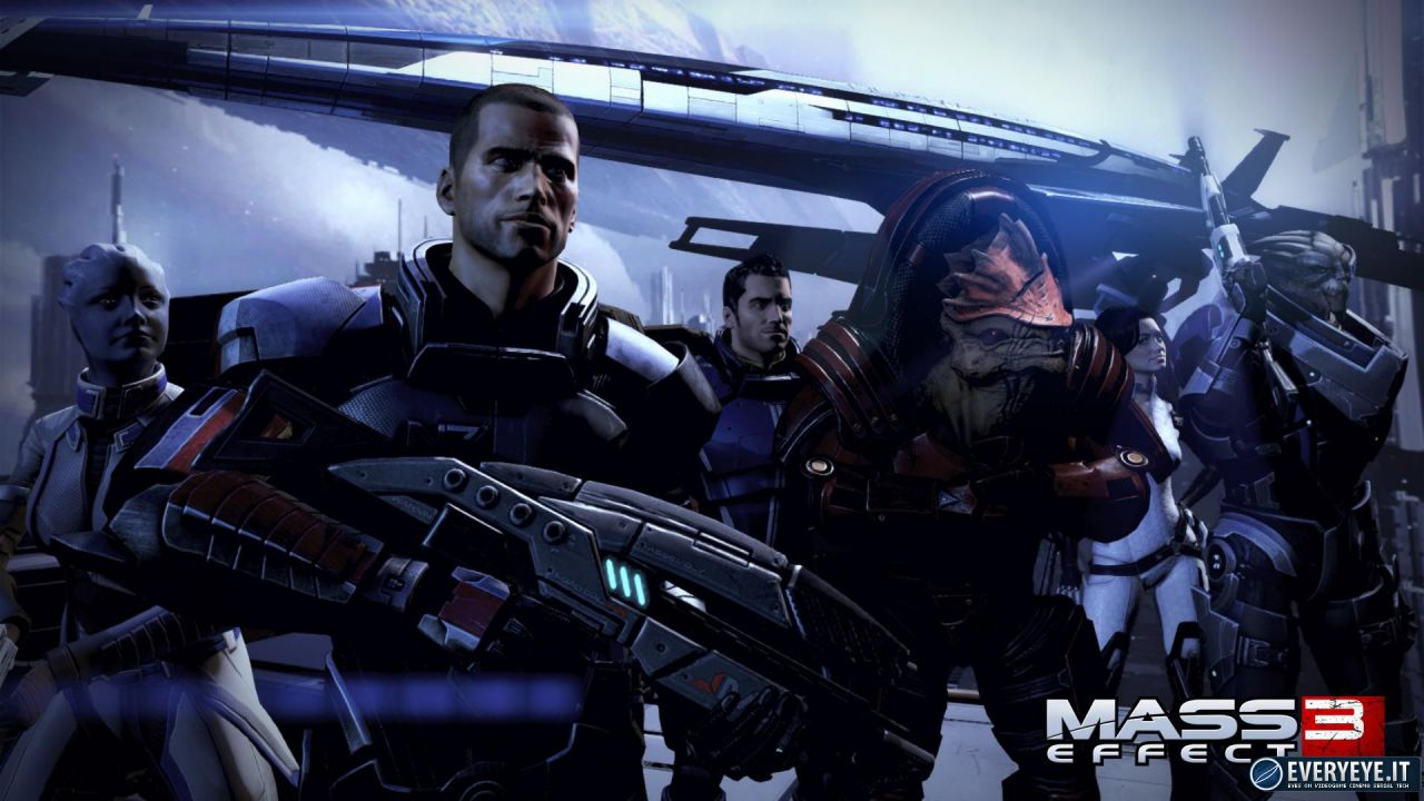 [Report] I contenuti del DLC Earth di Mass Effect 3