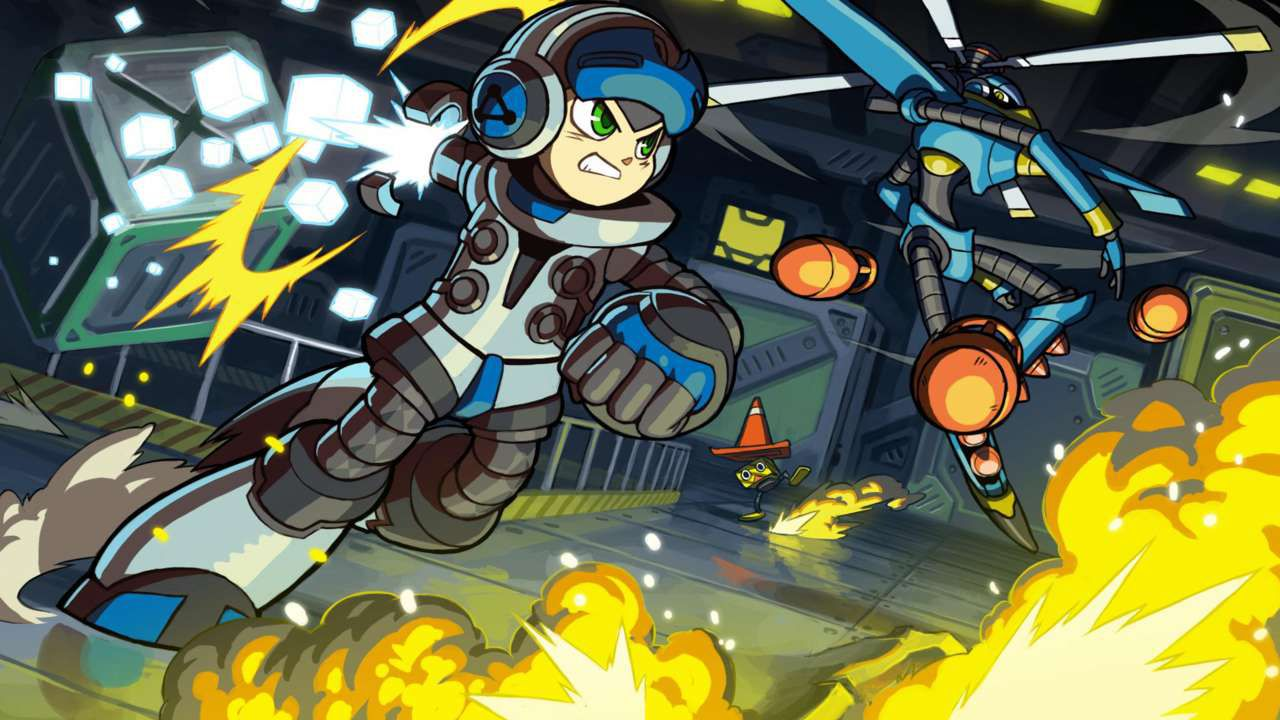 Mighty No.9: rivelato lo stretch goal per PSVita e 3DS - prevista copia fisica del gioco su PC