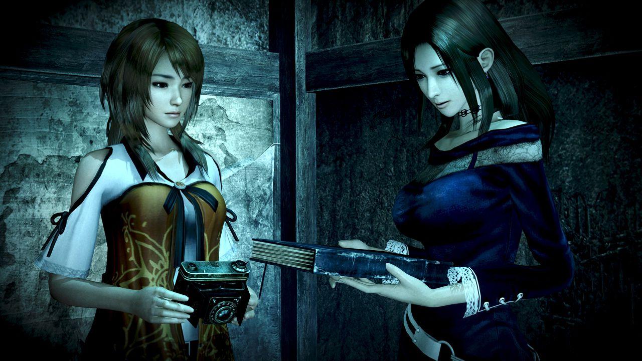 Fatal Frame: The Black Haired Shrine Maiden - dettagli riguardo i personaggi