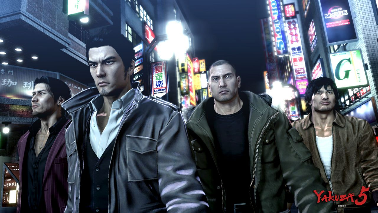 Yakuza 5: spot TV e video gameplay