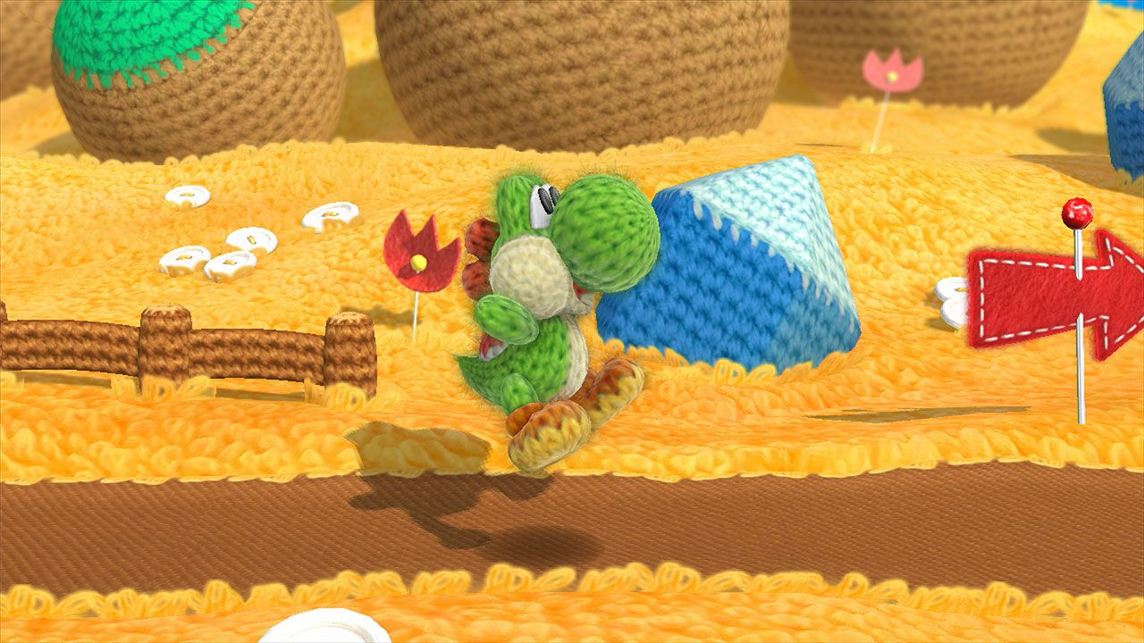Yoshi's Woolly World: dinosauri in arrivo su Wii U