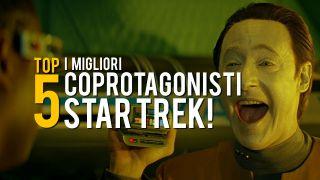 I cinque migliori coprotagonisti di Star Trek
