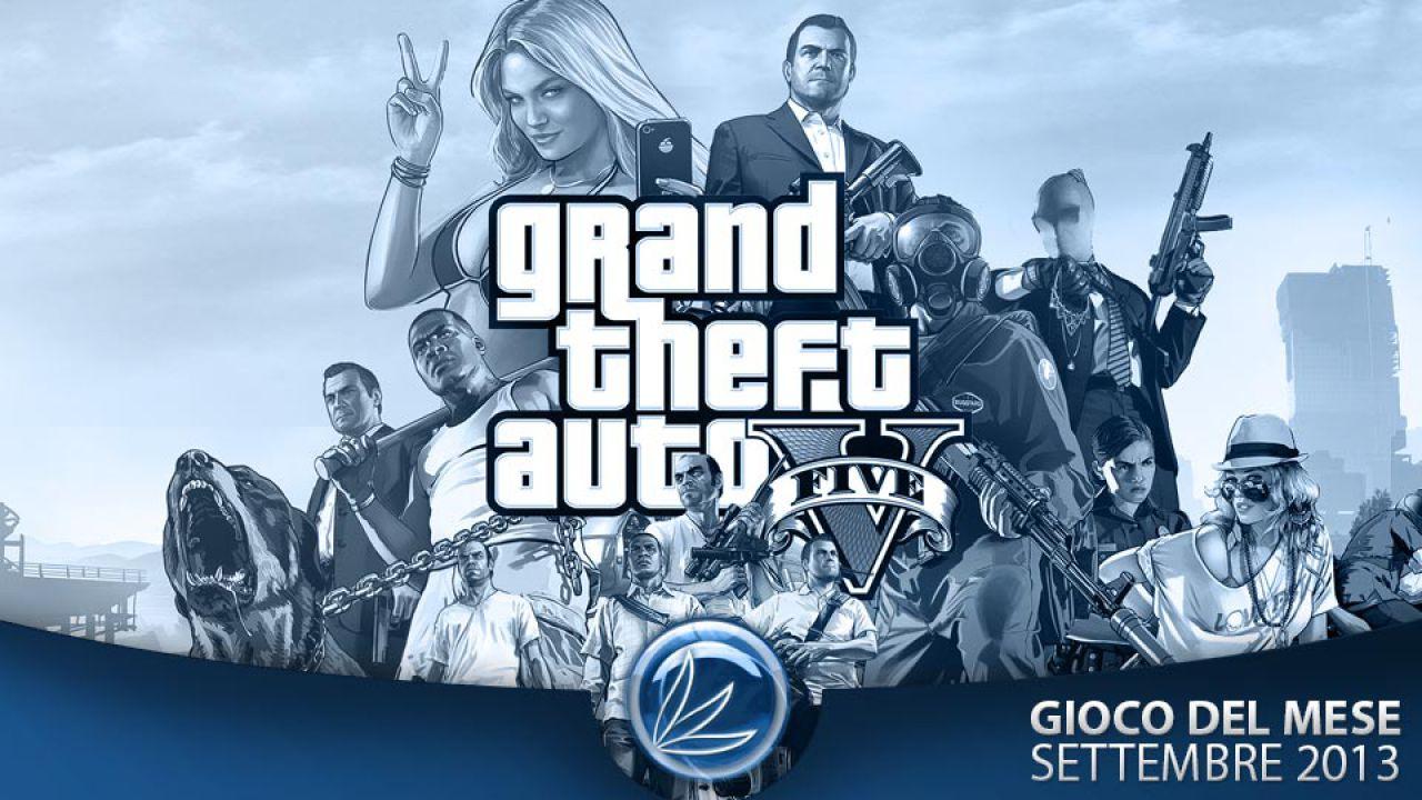 GTA 5: Gioco del mese Settembre 2013