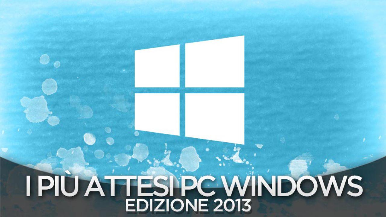 I Giochi piu' Attesi del 2013 - PC