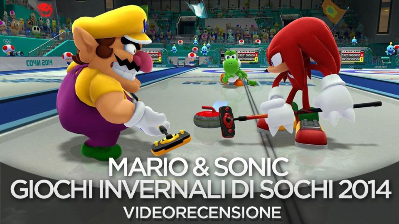 Mario and Sonic ai Giochi Olimpici Invernali di Sochi 2014