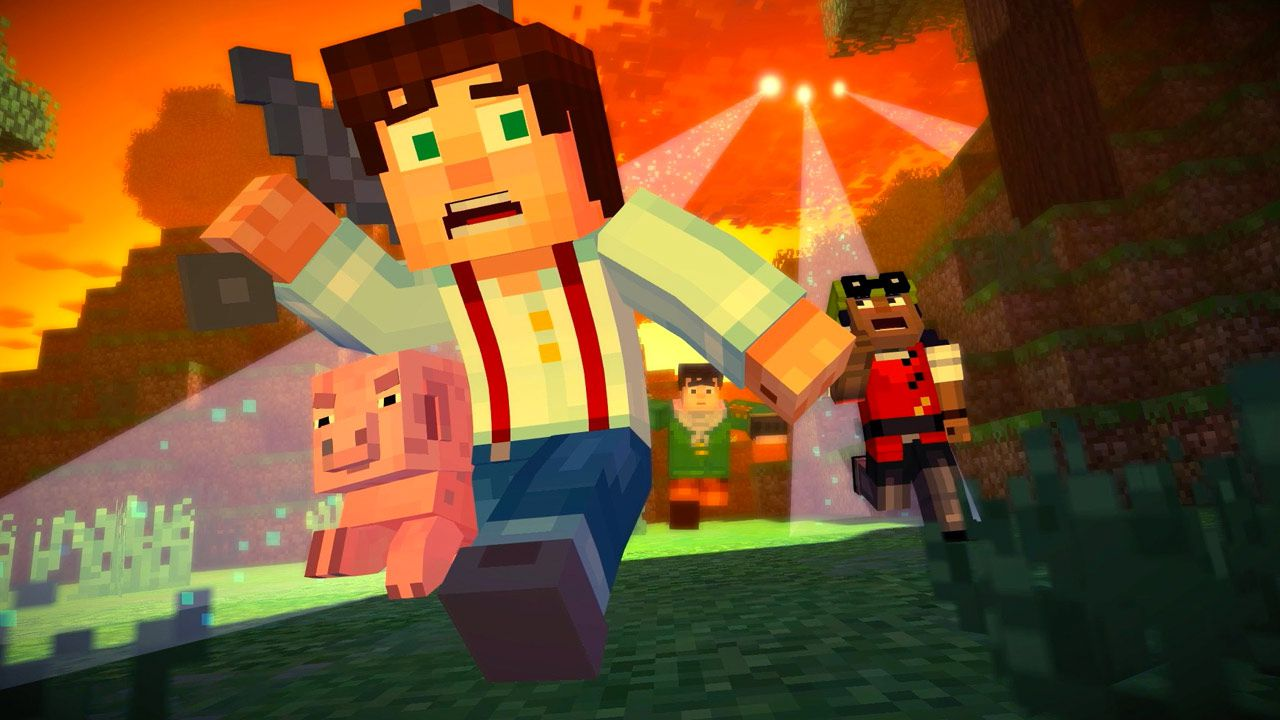 Minecraft Story Mode EP5: Order Up!