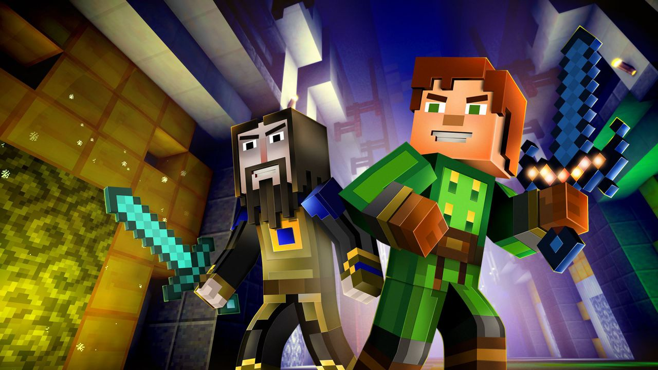 Minecraft Story Mode EP6: A Portal to Mystery