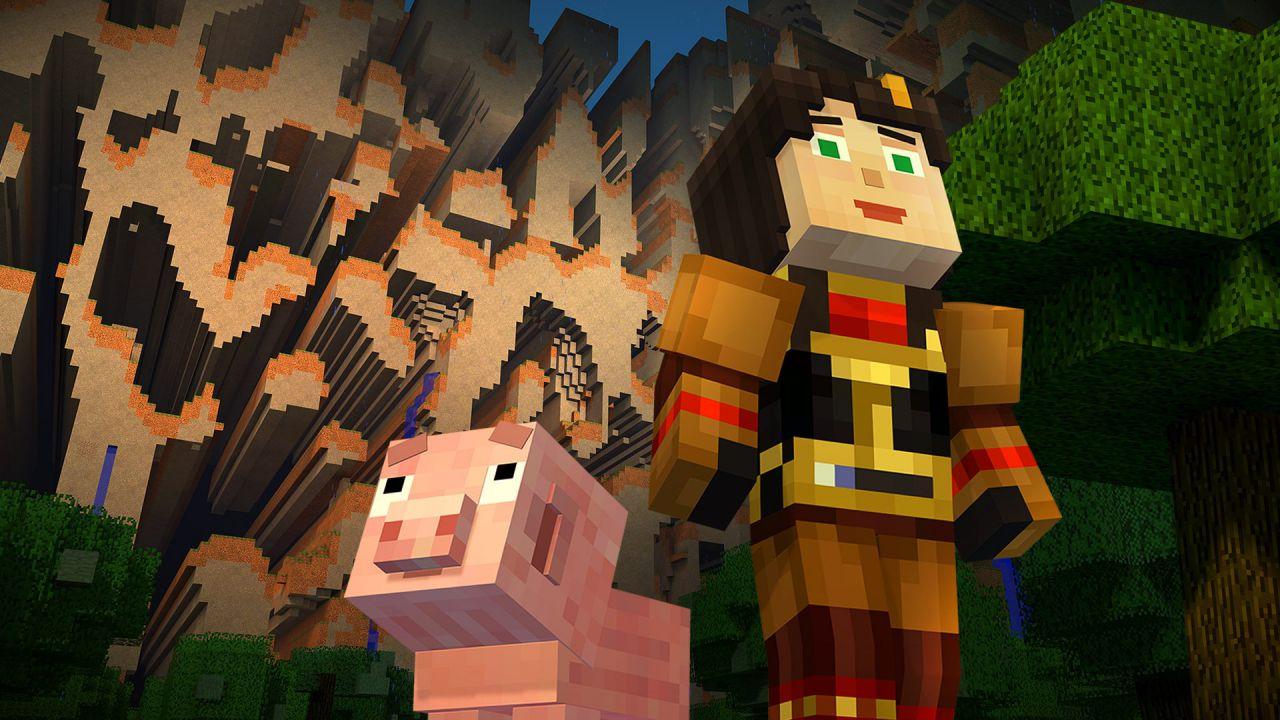 Minecraft Story Mode - Episodio 4