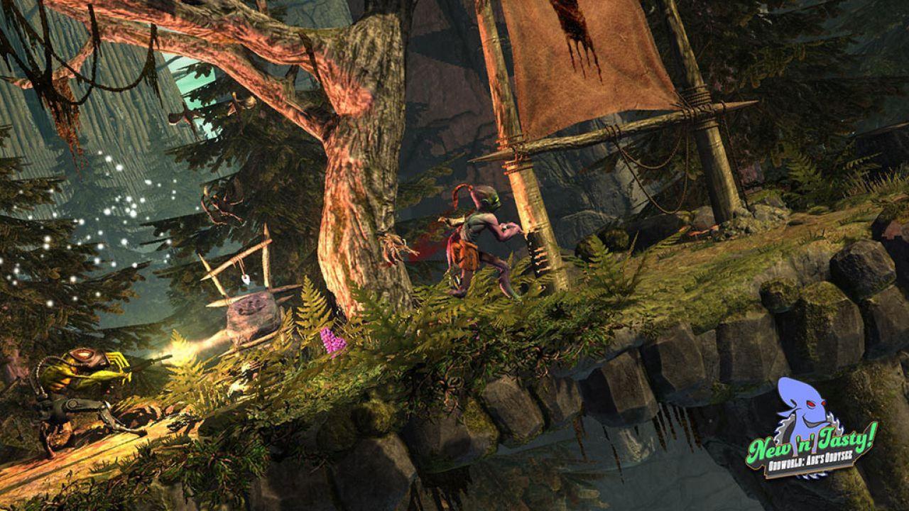 Oddworld: Abe's Oddysee - New 'n' Tasty - Alf's Escape DLC