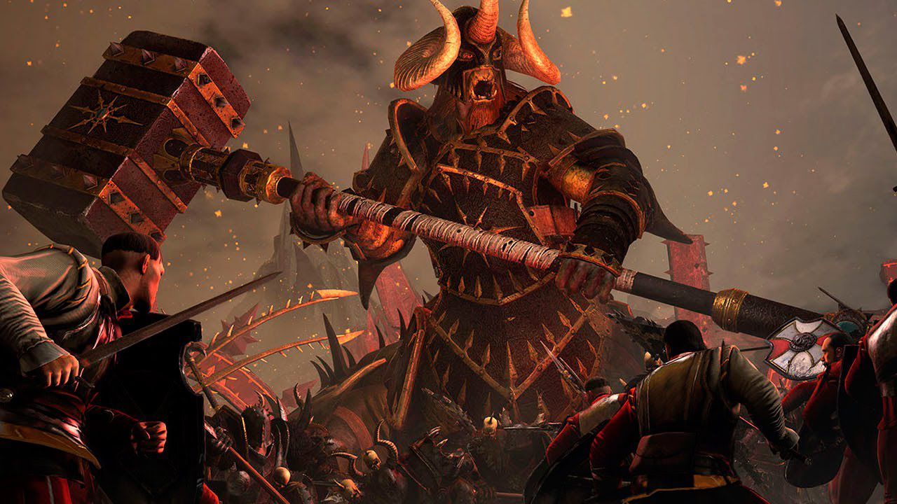 Total War Warhammer - Chaos Warriors