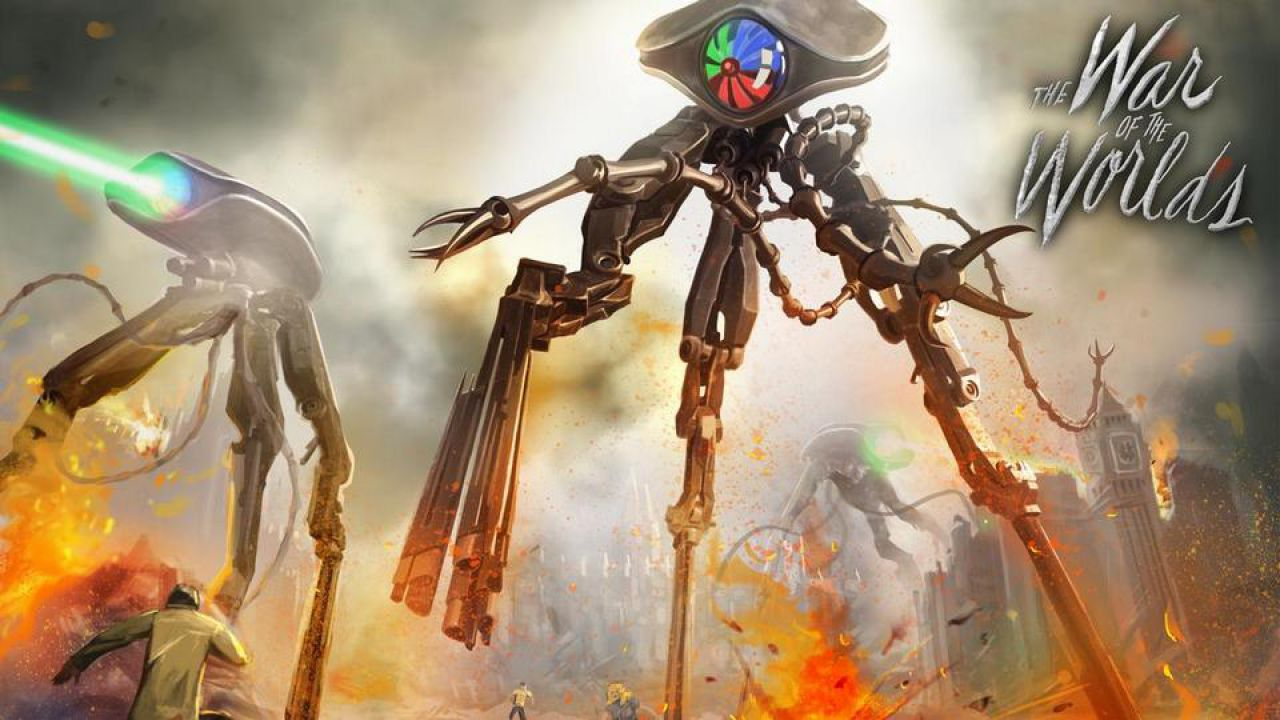 Risultati immagini per War of the Worlds mecha