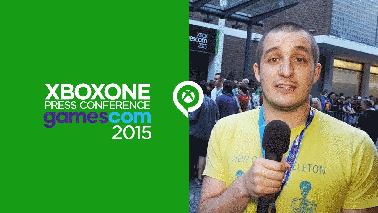 Xbox One GamesCom Press Conference